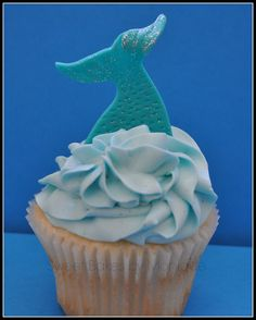 The Little Mermaid/Under the Sea Inspired Cupcakes