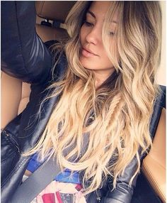 Hair envy. I am absolutely never cutting my hair off again regardless of how annoyed I become with it.