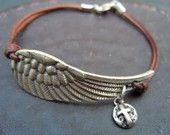Wing and a prayer bracelet