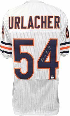 Brian Urlacher Autographed Jersey - Witness - JSA Certified - Autographed  NFL Jerseys by Sports Memorabilia 2bbba1639