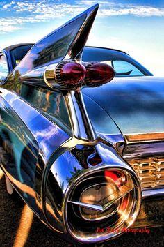 "Cadillac Eldorado"" by James Terry Cadillac Eldorado, Cadillac Ats, American Classic Cars, Ford Classic Cars, Sexy Cars, Hot Cars, Up Auto, Automobile, Vw Vintage"