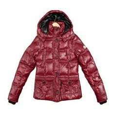 France Moncler Cluny Down Claret Claret Jacket Women Outlet