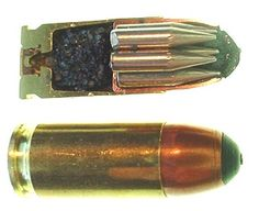 "oa-ar15: "" Flechettes in Handgun Caliber Ammo """