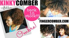 Yay! KINKYCOMBER OMBRE is back in stock!