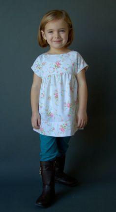 DIY Girl's Shirt: The Izzy Top
