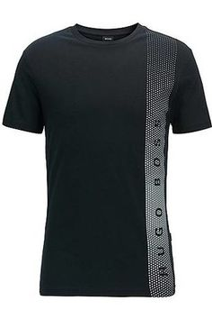 HUGO BOSS Camiseta slim fit en algodón con protección UV