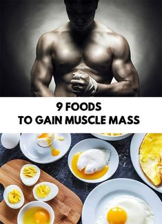 To increase muscle mass you need specific training for certain muscles and a proper diet. Here are 9 foods that help you to gain muscle mass Diy Beauty Care, Fashion And Beauty Tips, Health And Beauty Tips, Beauty Guide, Fashion Guide, Beauty Tricks, Beauty Ideas, Fashion Ideas, Homemade Body Care