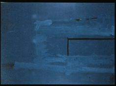 The Blue Painting by Robert Motherwell