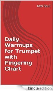 Free Trumpet Music - good trumpet warmups, scales, fingering chart and Trumpet Fingering Chart, Trumpet Music, Violin, Guitar, Free, Piano, Classroom, Book, Cover