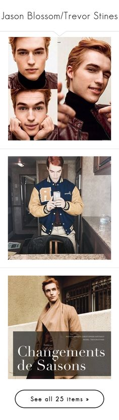 """""""Jason Blossom/Trevor Stines"""" by tale-as-0ld-as-time ❤ liked on Polyvore"""