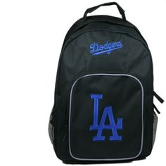 MLB Los Angeles Dodgers SouthPaw Backpack, Black by Concept 1. $19.99