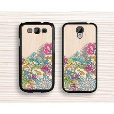 pink floral Samsung case,geometrical samsung Note 4 case,art flower samsung Note 3 case,wood flower samsung Note 2 case,pink floral Galaxy S3 case,art design Galaxy S4 case,girl's gift Galaxy S5 case - Samsung Case