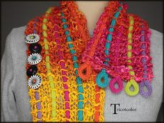 Tricotcolor: Sleepless in colorful creations!