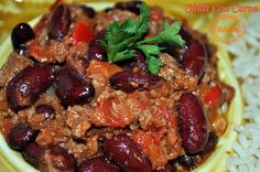 Chilli Con Carne in the Tefal or Seb Actifry - Couscous and pudding Actifry Recipes, Beef Recipes, Cooking Recipes, Healthy Recipes, Tefal Actifry, Grubs, Air Fryer Recipes, Couscous, Food Porn