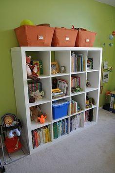 I'm so sick of toys on the floor!! Kids bedroom storage