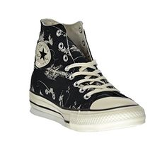 Converse Chuck Taylor Hi BlackParchment 55 Men  75 Women *** Click affiliate link Amazon.com on image for more details.