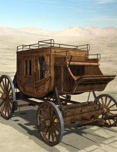 The RHS Stagecoach | 3D Models and 3D Software by Daz 3D