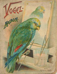 vogelmalbuch cover by janwillemsen, via Flickr