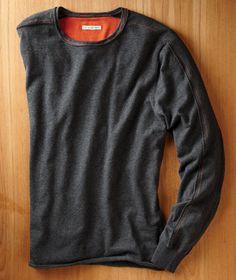 Carbon2Cobalt Gran Sasso Cotton/Cashmere Sweater