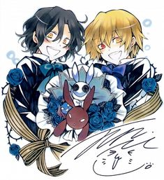 Anime, SQUARE ENIX, Scan, Pandora Hearts, Gilbert Nightray