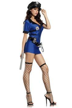 HOTTIE POLICE BILLY CLUB POLICE BATON w//SHIELD CHARM HALLOWEEN COSTUME ACCESSORY
