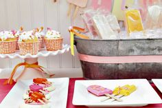 Summertime Cool Out Party - popsicle party