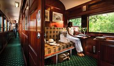 Now a day, luxury trains are very popular. Luxury trains will provide you the complete relaxation inside the train.