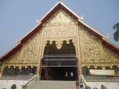 De Chanting Hall bij Wat Suandok