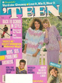 Teen Magazine August 1986