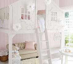 Treehouse Loft Bed | Pottery Barn Kids