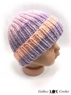 Crochet Baby Hats Baby Fisherman's Hat - Free Knitting Pattern Baby Hat Knitting Pattern, Baby Hat Patterns, Baby Hats Knitting, Knitting Patterns Free, Free Knitting, Free Pattern, Crochet Patterns, Pattern Ideas, Knitting Needles