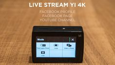 This is a tutorial on how to Live Stream YI 4K Footage right to your Facebook Profile, Facebook Page or YouTube Channel. Facebook Profile, Fitbit, Channel, Action, Live, Youtube, Group Action, Youtubers, Youtube Movies