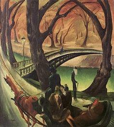 Tiergartenherbst, 1925 by Albert Birkle (German, 1900-1986)
