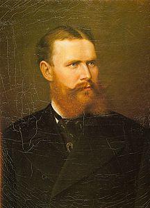 GUGLIELMO II DEL WUTTEMBERG RITRATTO NEL 1878