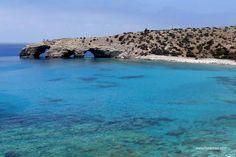 Tripiti, Gavdos, Chania, Crete, Greece. The southest beach of Europe