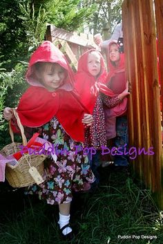 red riding hood ideas