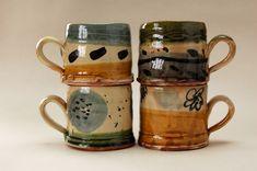 nigel lambert's beautiful lead glazed earthenware mugs...