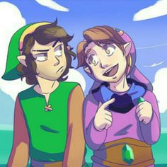 Danny n Arin as Link and Ravio   >vO (thank for correcting my mistake! -w-)