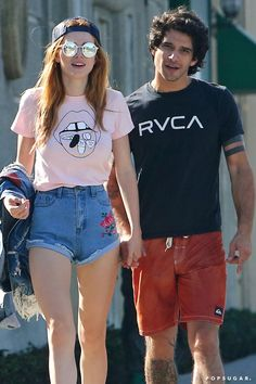 Teen Wolf's Tyler Posey and Girlfriend Bella Thorne Can't Keep Their Hands to Themselves