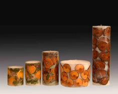 Handmade Candles Filled In Fruits,Wood,Flowers Photo, Detailed about ...