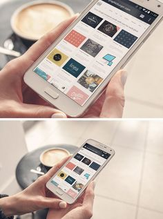 Promote your mobile app or theme in style with this gorgeous PSD mock-up. Using a super clean, high resolution image...