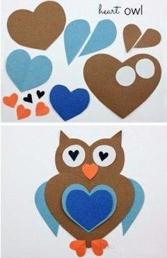 НАША СТРАНА МАСТЕРОВ: Аппликации из сердечек