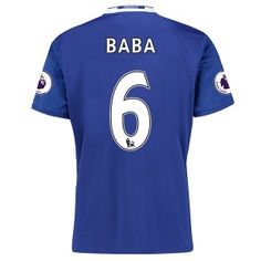 16-17 Chelsea Football Shirt Cheap Home Replica Shirts #6 BABA [E285]