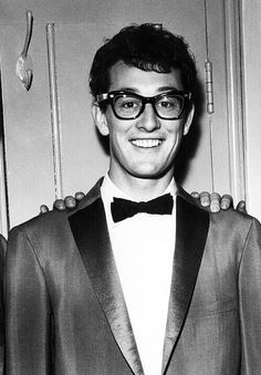 Buddy Holly....my God, this is so adorable