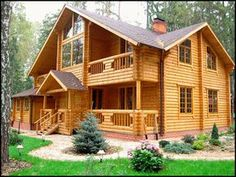 60 Rustic Log Cabin Homes Plans Design Ideas And Remodel - Afshin Decor Cabin House Plans, Log Cabin Homes, Style At Home, Forest House, Cabins And Cottages, Cabin Design, Wooden House, Home Living, House In The Woods