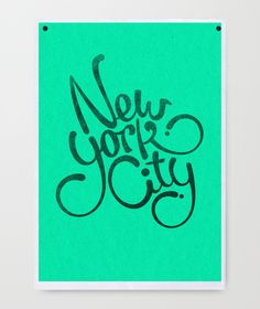 Typography Posters by Mats Ottdal, via Behance