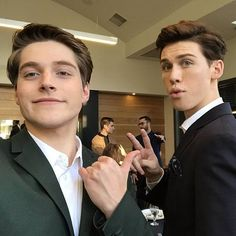 Froy with Aidan