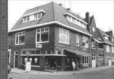 Gezicht op de slagerij van Hommes aan de Borneostraat hoek Vechtstraat in de wijk Diezerpoort.