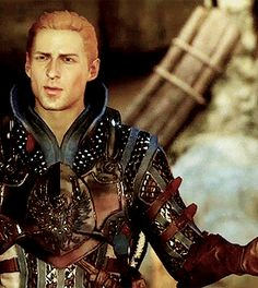 Grey Warden Alistair Theirin ugh I need to figure out how to get my other saves set up so I can have him in my game