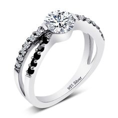 .925 Sterling Silver CZ Ring, Size 7 by CZ Jewelry - See more at: http://blackdiamondgemstone.com/colored-diamonds/jewelry/rings/statement/925-sterling-silver-cz-ring-size-7-com/#sthash.pxtSeJki.dpuf